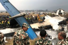 В Непале упал самолёт: 50 погибших