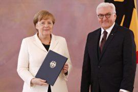 Ангелу Меркель в четвёртый раз избрали канцлером