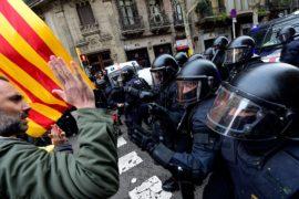 Карлес Пучдемон арестован, в Каталонии вспыхнули протесты и беспорядки