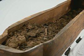 В «пустом» саркофаге неожиданно нашли плохо сохранившуюся мумию