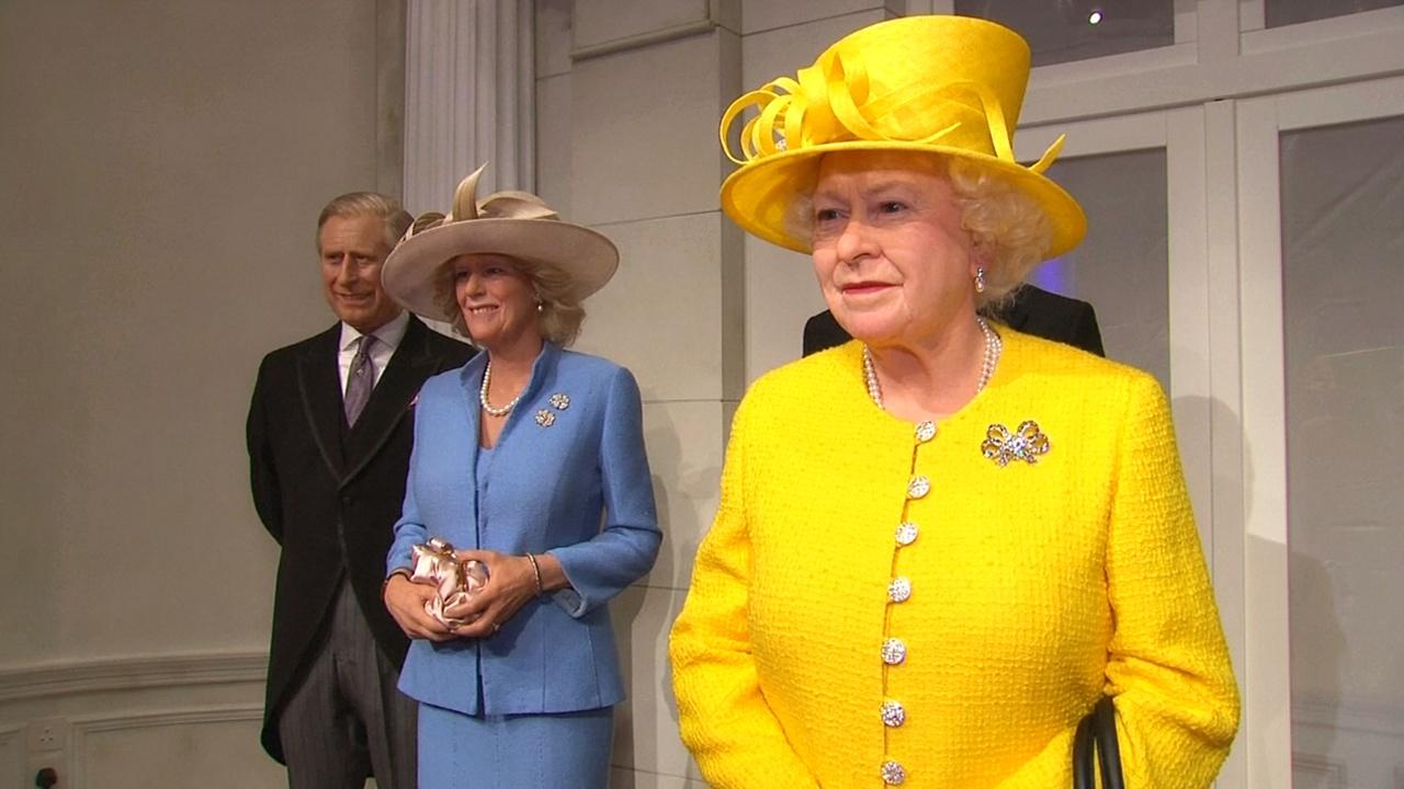 Британскую королевскую семью в воске представил Музей мадам Тюссо