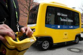 В Берлине появились беспилотные автобусы, несмотря на ДТП с автомобилем Uber