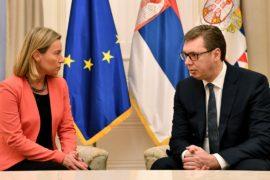 Федерика Могерини обсудила с президентом Сербии инцидент в Косове