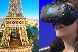 Полетать над Парижем: новые экскурсии виртуальной реальности