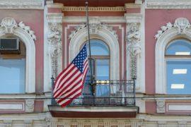 Россия высылает 60 американских дипломатов и закрывает консульство США в Санкт-Петербурге