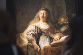 Рембрандт и Леонардо да Винчи на выставке в Москве