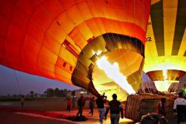 Полёты на воздушном шаре в Египте популярны несмотря на недавнюю трагедию
