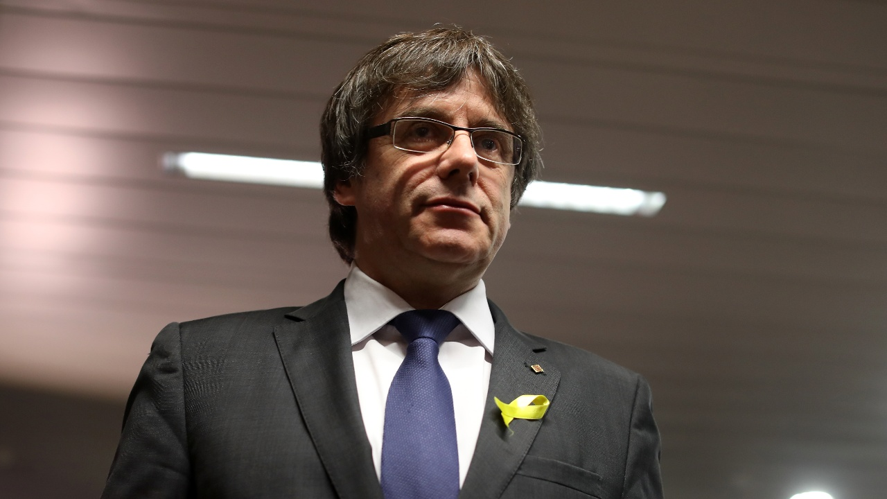 Суд Германии отпустил Карлеса Пучдемона под залог