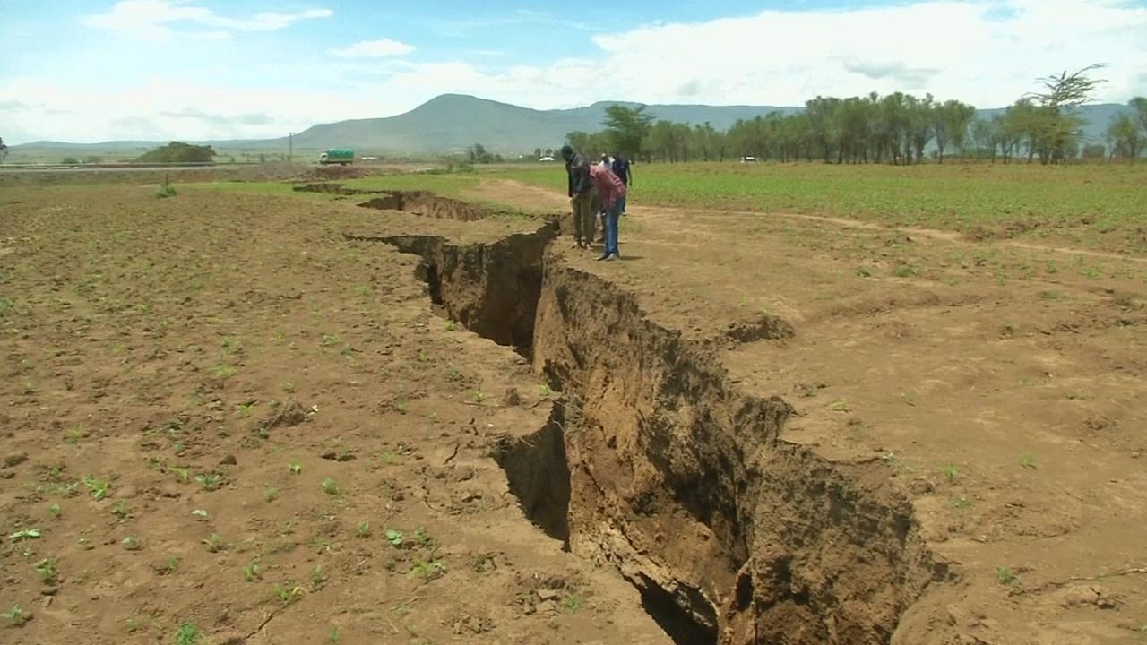 Геологи – о разломе в Кении: «Африка раскалывается на две части»