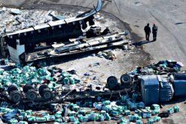 Автобус с хоккеистами попал в ДТП в Канаде: 14 погибших