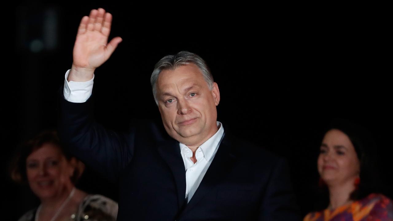 Виктор Орбан победил на выборах в Венгрии