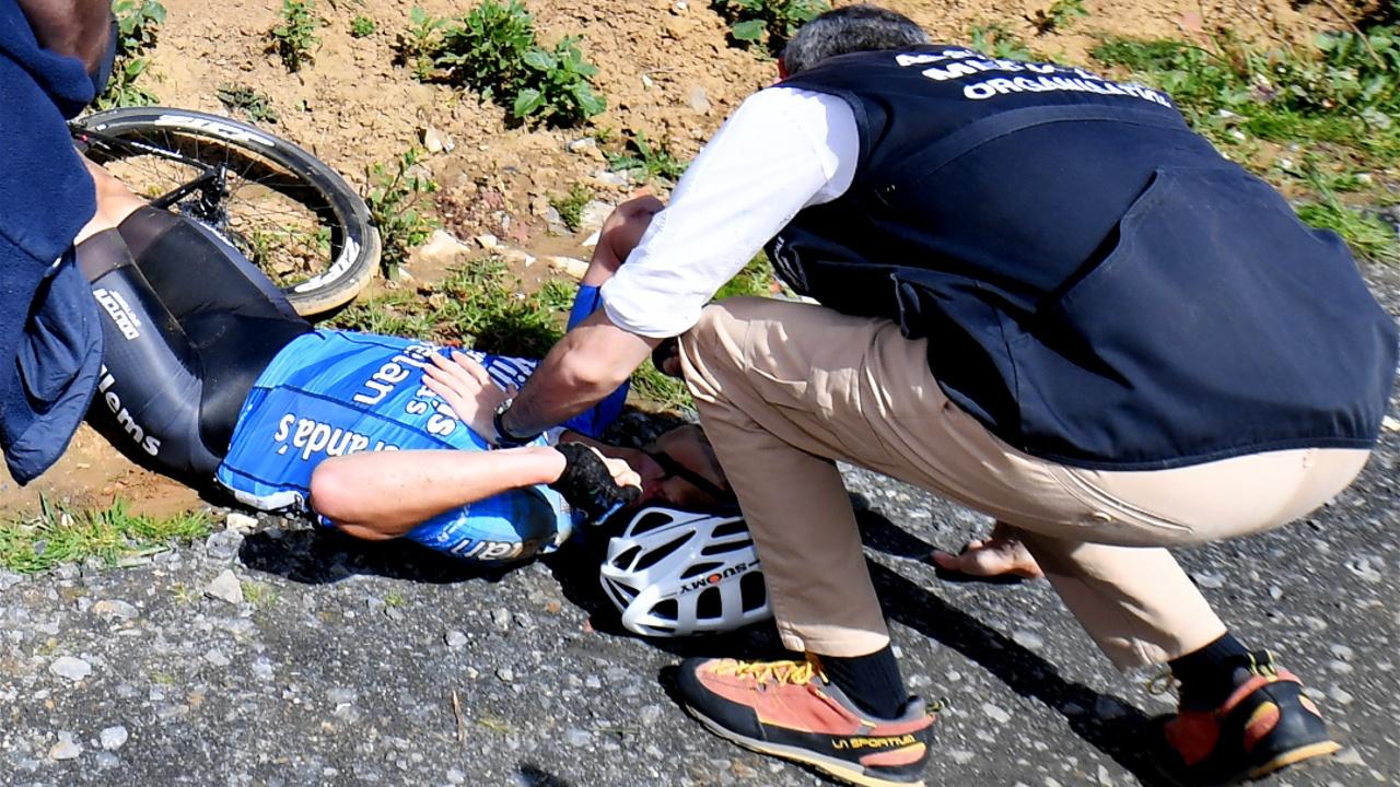 Бельгийский велогонщик Михаэл Голартс умер от остановки сердца