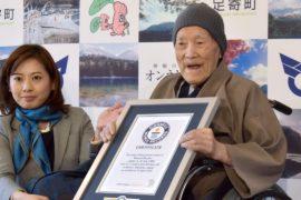112-летний японец стал самым старым мужчиной на Земле