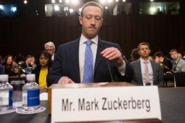 Марк Цукерберг ответил на вопросы сенаторов, акции Facebook поползли вверх