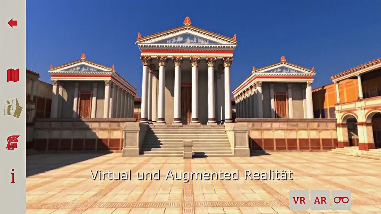 Древнеримский город реконструируют в виртуальной реальности