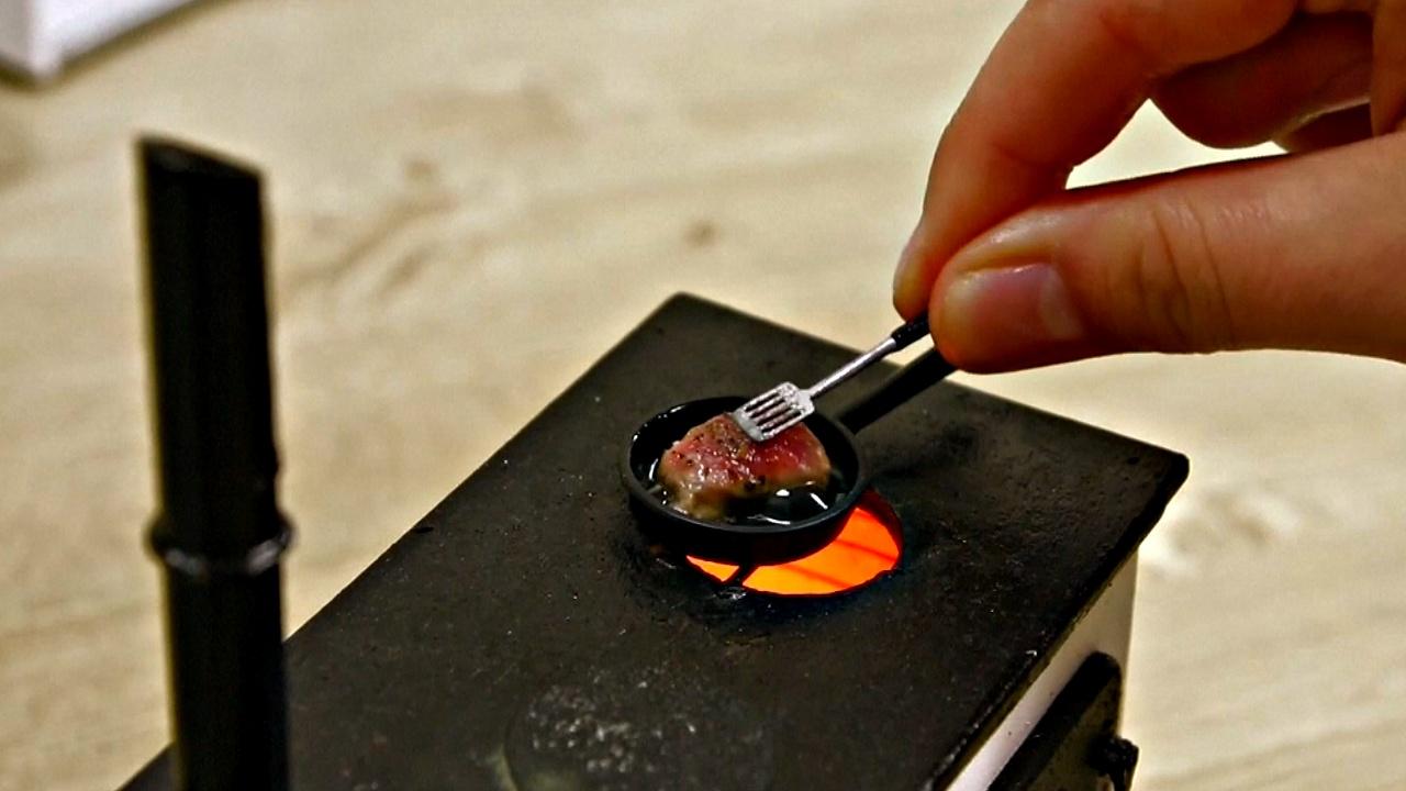 Блюда турецкой кухни в миниатюре готовят супруги из Стамбула