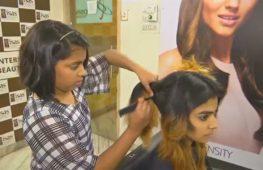 12-летняя индианка прославилась как талантливый парикмахер