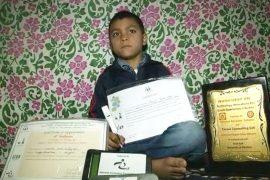 9-летний индиец изобрёл ручку, подсчитывающую написанные слова