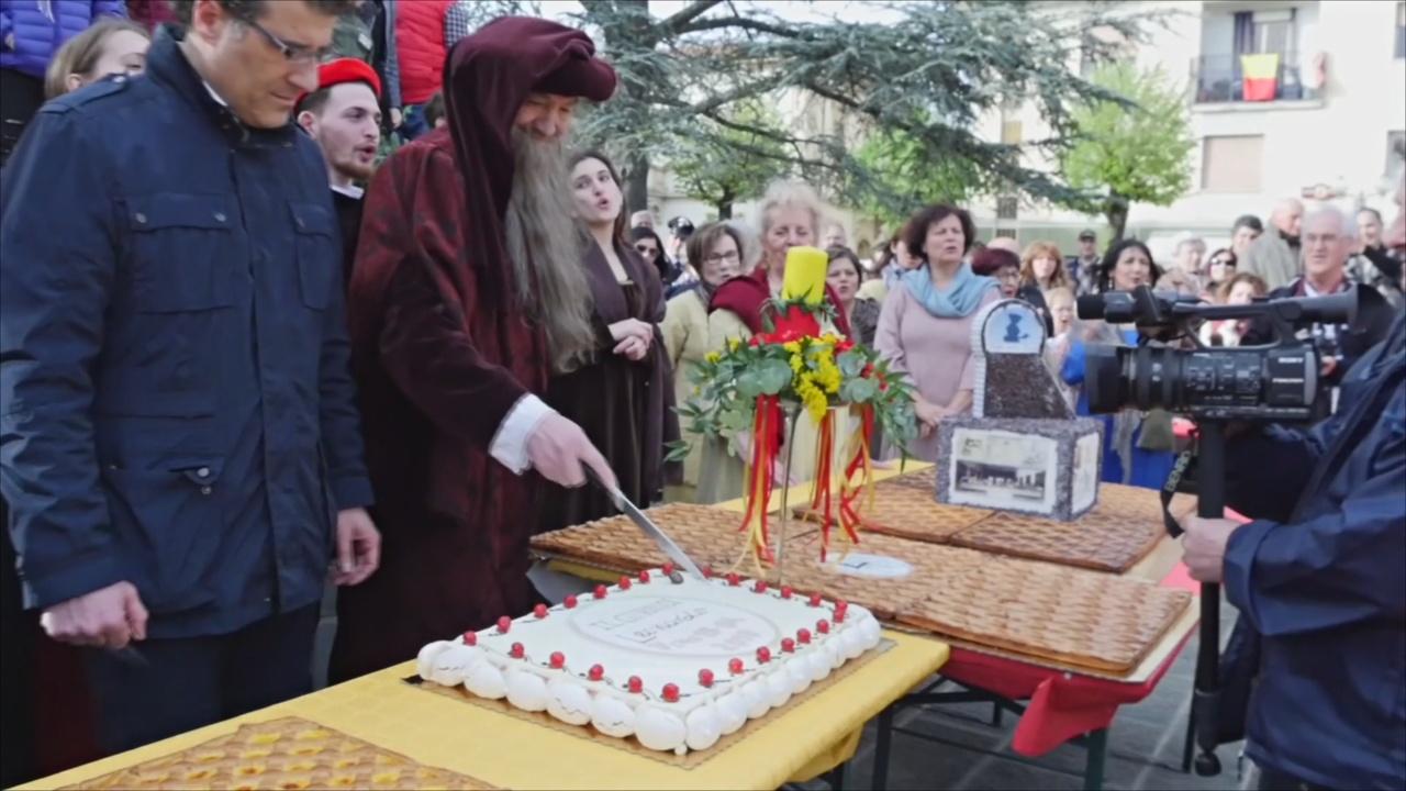 День рождения Леонардо да Винчи отметили в его родном городе