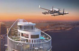 На небоскрёбе в Майами построят посадочную площадку для летающих авто