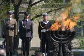 В Польше почтили память жертв восстания в Варшавском гетто