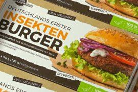 Гамбургеры с котлетами из насекомых появились в немецком магазине