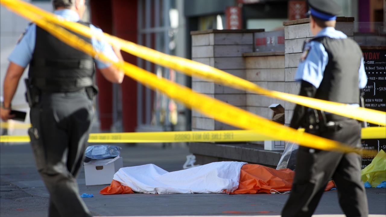 Фургон давил пешеходов в Торонто: 10 погибших