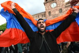 В Армении распалась правящая коалиция, протесты продолжаются