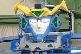 Новый японский робот-трансформер умеет превращаться в автомобиль