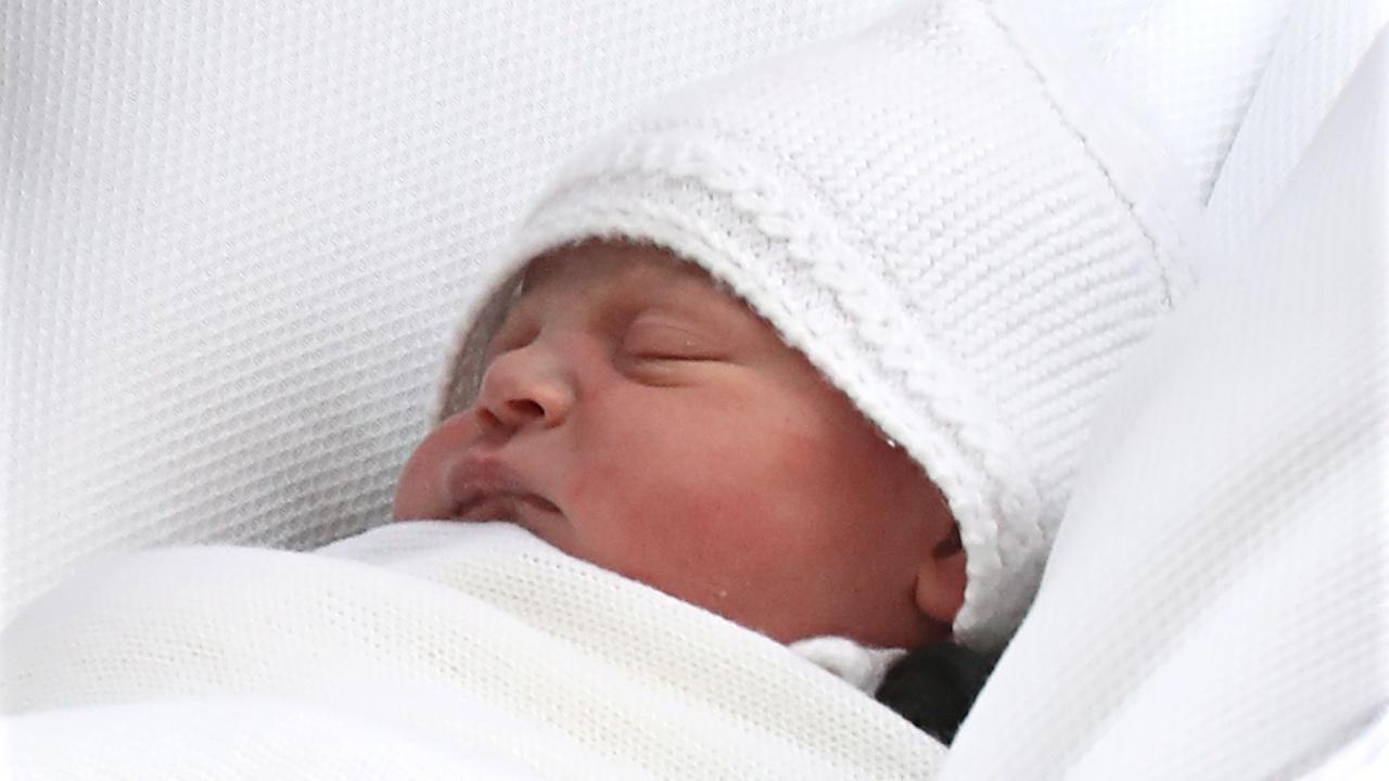 Новорождённый британский принц получил имя