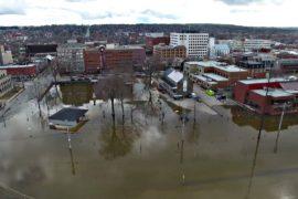 Наводнение в Нью-Брансуике — сильнейшее за десятилетия