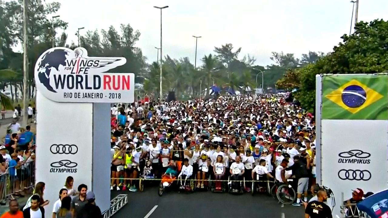 Участники Всемирного забега собрали 3 млн евро на благотворительность