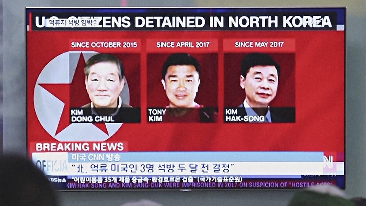 Дональд Трамп поблагодарил Ким Чен Ына за освобождение троих американцев