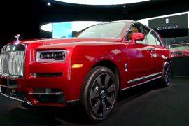 Rolls-Royce Cullinan: как выглядит первый кроссовер британской марки