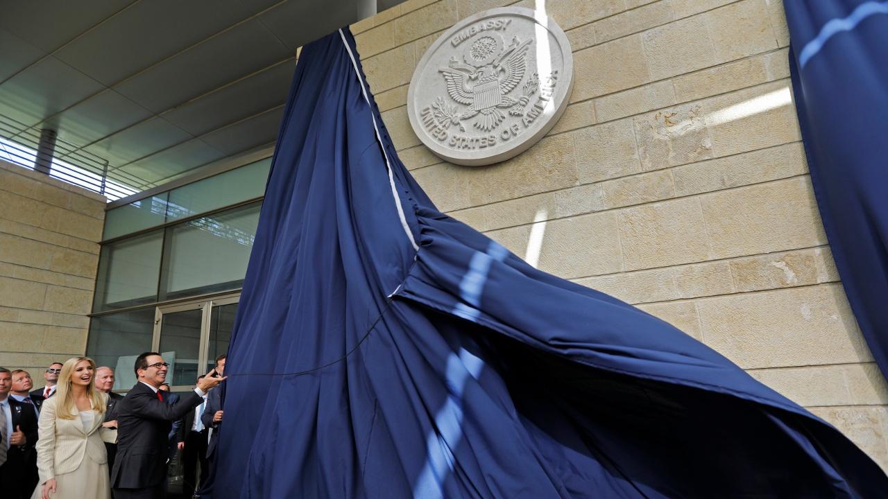 В Иерусалиме официально открылось посольство США