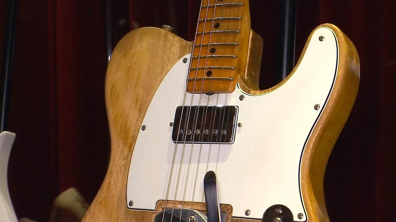 Гитары Принса, Джорджа Харрисона и Боба Дилана выставят на торги