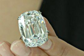 Кольцо с бриллиантом ушло с молотка за 6,5 млн долларов