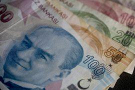 Курс турецкой лиры упал до рекордно низкого уровня по отношению к доллару