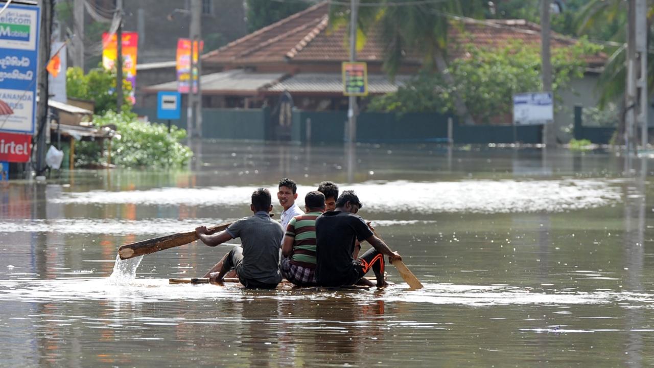 Наводнения на Шри-Ланке: не менее 8 погибших