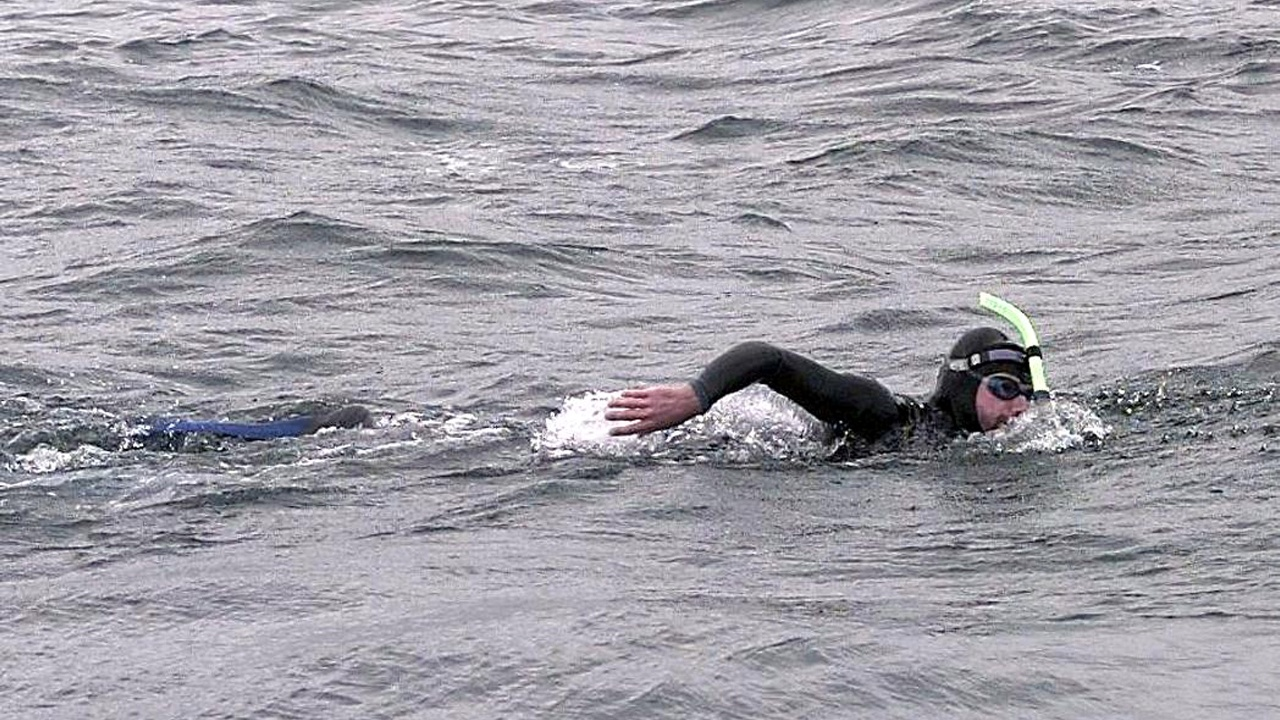 Заплыв ради экологии: француз пересечёт Тихий океан за полгода