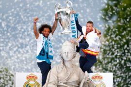 «Реал Мадрид» празднует победу в Лиге чемпионов УЕФА