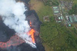 Килауэа не стихает: лава сожгла более 80 домов и добралась до электростанции