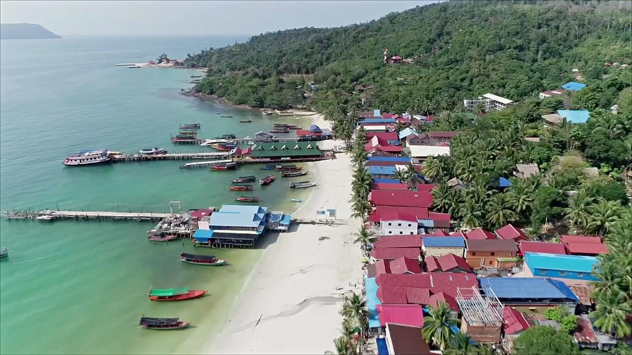 Первый морской нацпарк в Камбодже защитит природу семи островов