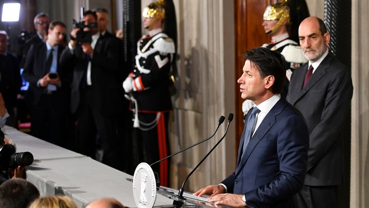 Юрист Джузеппе Конте снова формирует правительство Италии
