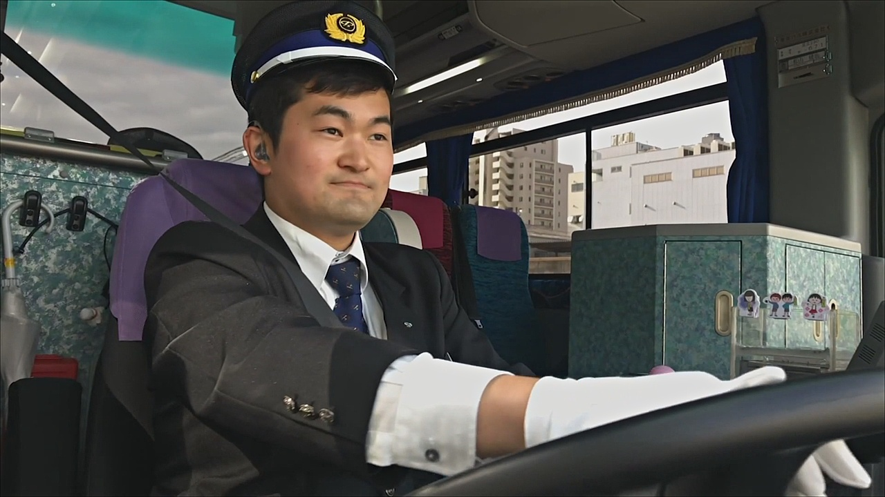 Осуществить мечту: японец с глухотой сел за руль автобуса