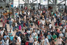 Аэропорт Гамбурга парализовало на день из-за отключения электроэнергии