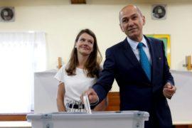 Выборы в Словении: победил экс-премьер с антииммигрантскими лозунгами