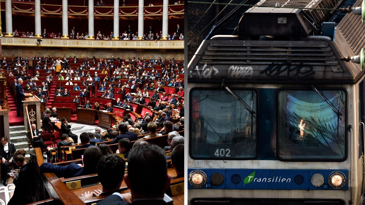 Железнодорожников Франции лишат льгот: сенат одобрил реформу