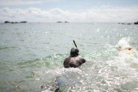Француз отправился в полугодовой заплыв по Тихому океану