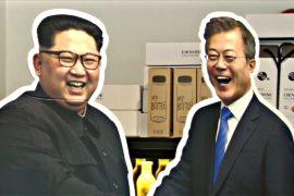 Южнокорейцы зарабатывают на улыбающемся Ким Чен Ыне